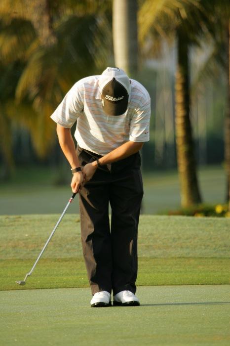 photoblog image Golfer